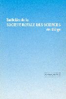 Bulletin de la Société Royale des Sciences de Liège
