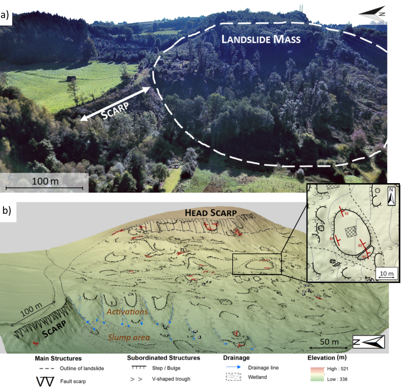 Seismotectonic Activity In East Belgium Relevance Of A Major Scarp