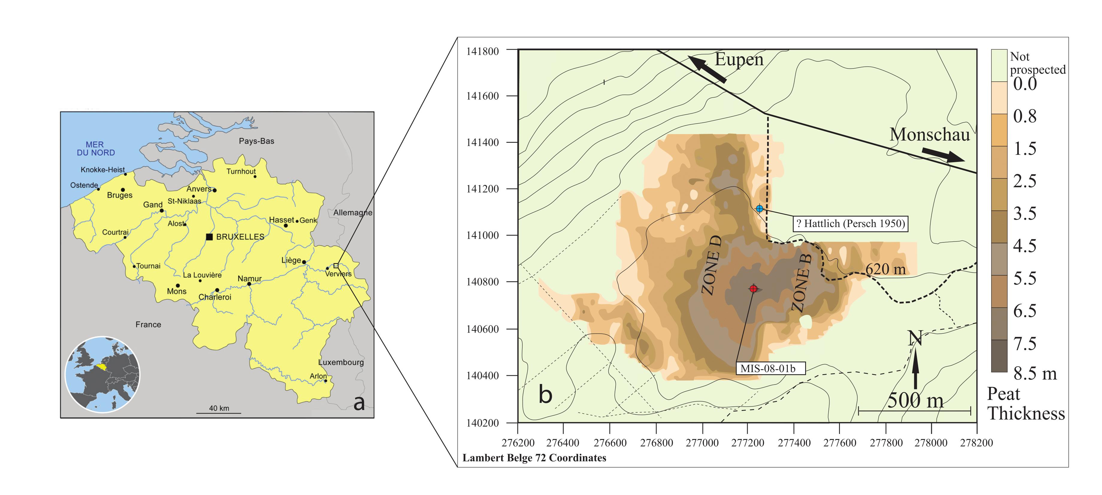 Reconstructing Early Atlantic to Early Subatlantic peat