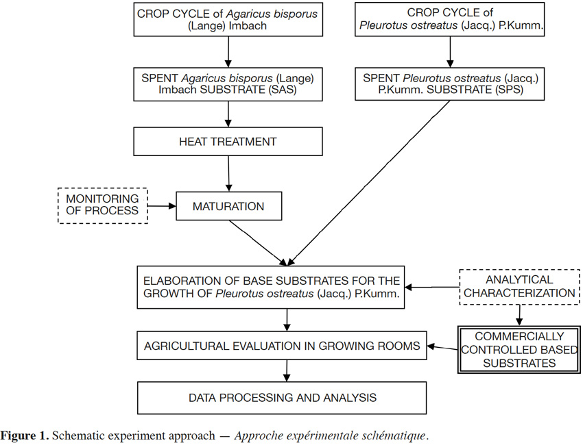 Agronomic assessment of spent substrates for mushroom