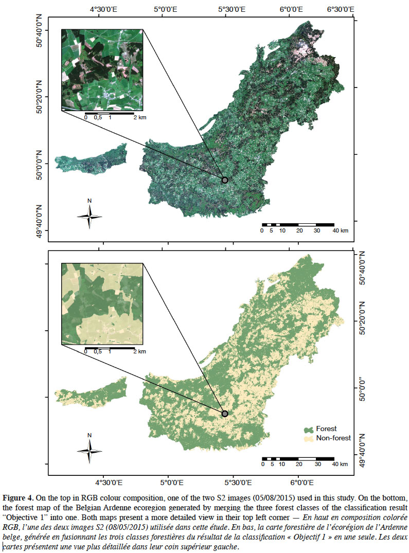 Forest mapping and species composition using supervised per ... on precipitation map, land use map, tree zone map, plant map, density map, planting map, climate map, sugar maple map, terrain map, tree biome map, wood map, types of trees map, tree kingdom map,
