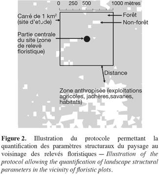 Relation Entre La Composition Floristique Et Des Indicateurs De La